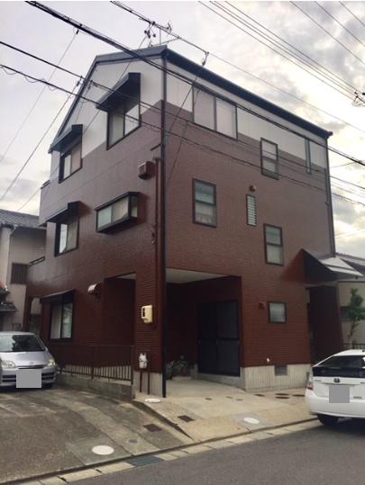 奈良県外壁塗装施工後の写真