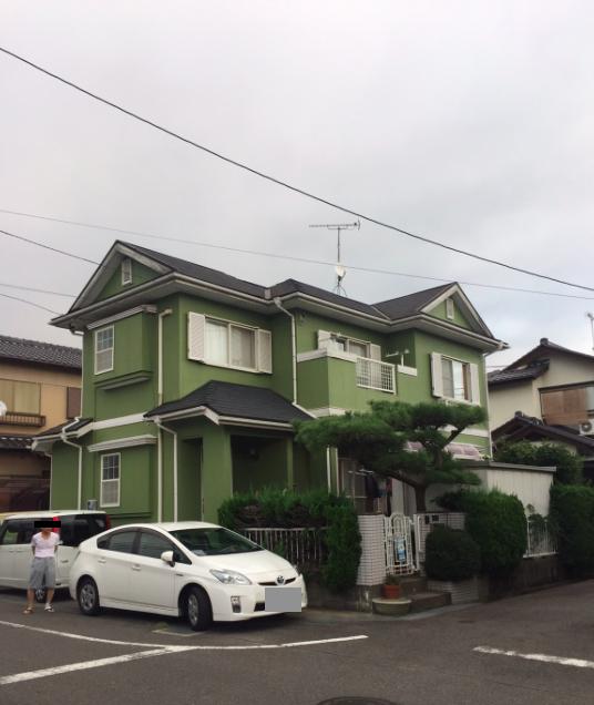 兵庫県外壁塗装施工後の写真