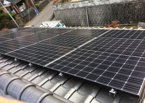 大阪府長州太陽光パネルCS-274B61施工後その他の写真2