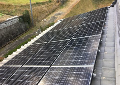大阪府長州太陽光パネルCS-274B61施工後その他の写真1