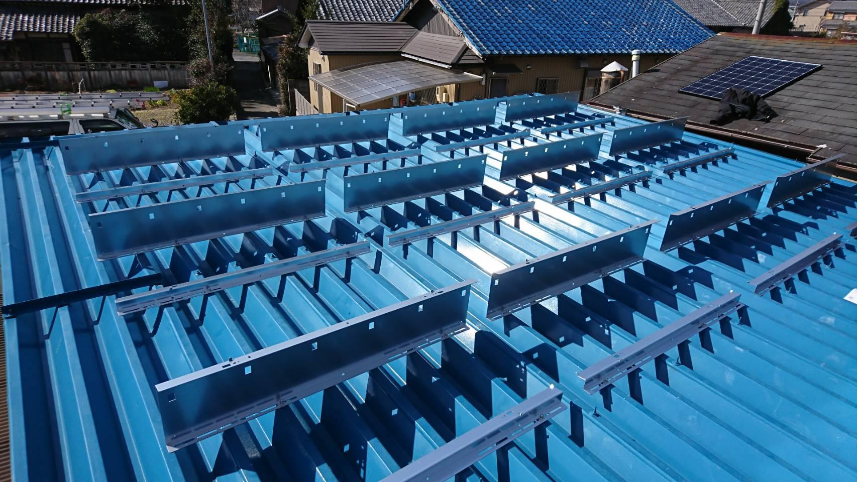 三重県長州産業太陽光発電CS-274B61施工前の写真