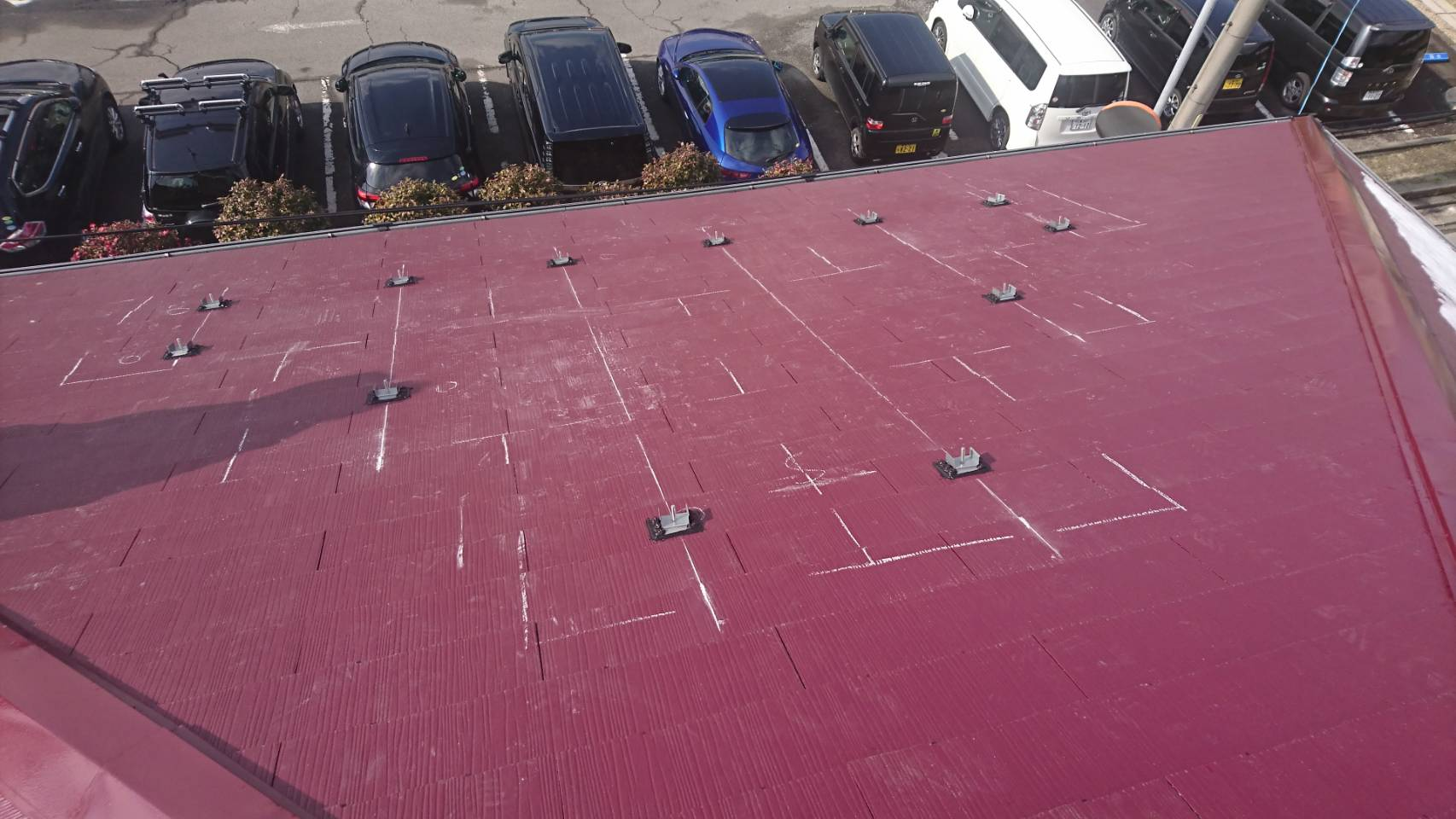 兵庫県長州産業 太陽光発電CS-274B61施工前の写真