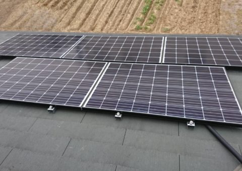 京都府長州産業太陽光発電CS-274B61施工後その他の写真2
