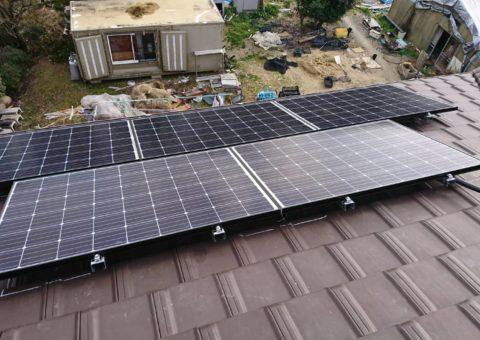 三重県長州産業 太陽光発電CS-274B61施工後その他の写真2
