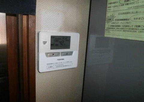 滋賀県東芝エコキュートHWH-F374施工後その他の写真1
