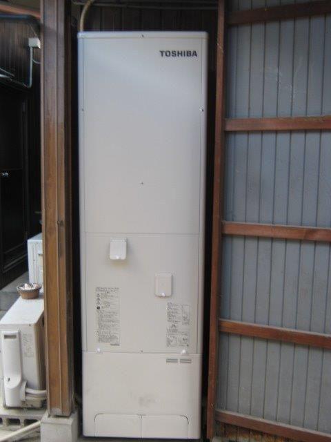 三重県東芝エコキュートHWH-B464施工後の写真
