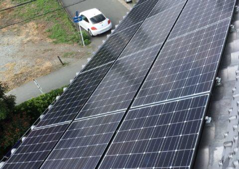 奈良県長州太陽光発電CS-260B51施工後その他の写真2