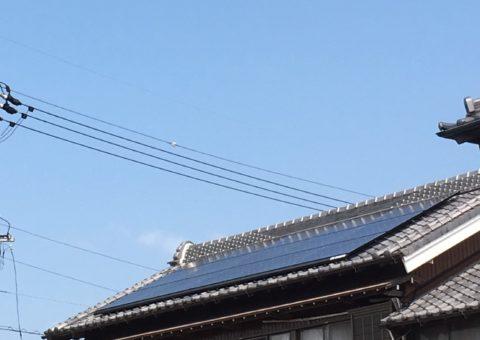 奈良県長州太陽光発電CS-260B51施工後その他の写真1