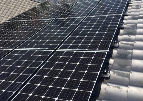 滋賀県三菱太陽光パネル 20枚PV-MA2180K施工後その他の写真1