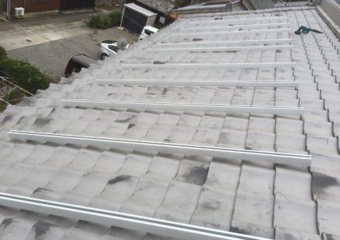 京都府三菱太陽光パネル 15枚PV-MA2250M施工後その他の写真1