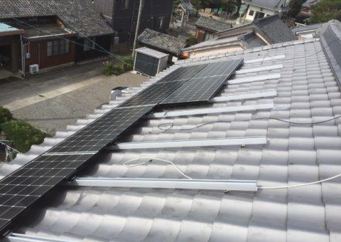 京都府三菱太陽光パネル 15枚PV-MA2250M施工後その他の写真2
