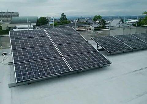 三重県三菱太陽光パネル 20枚PV-MA2250M施工後その他の写真2