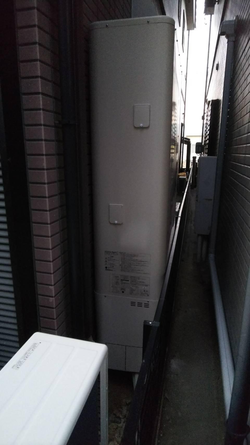 滋賀県東芝エコキュートHWH-B375HWV三菱IHクッキングヒーターCS-G32M施工後の写真