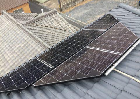 大阪府長州産業 太陽光発電CS-274B61施工後その他の写真1