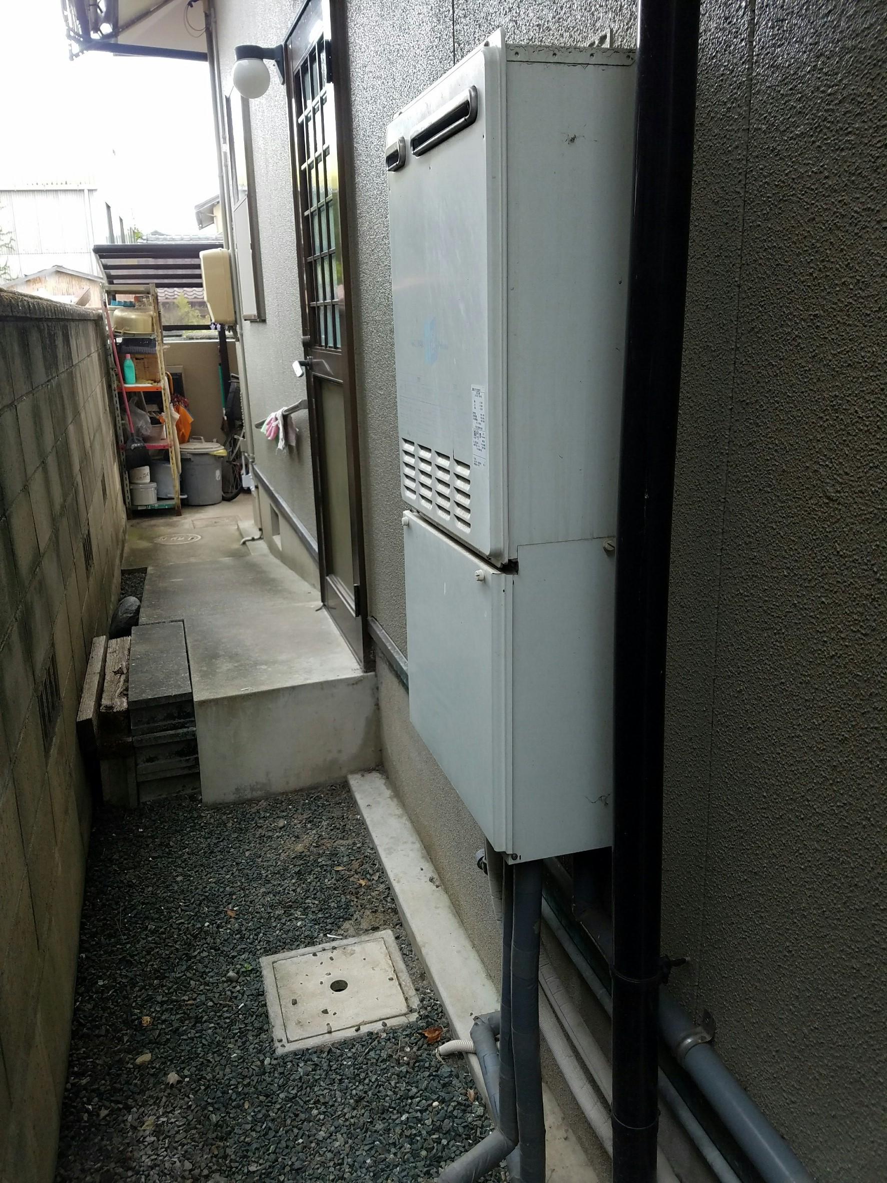 奈良県東芝エコキュートHWH-B374HA-Z施工前の写真