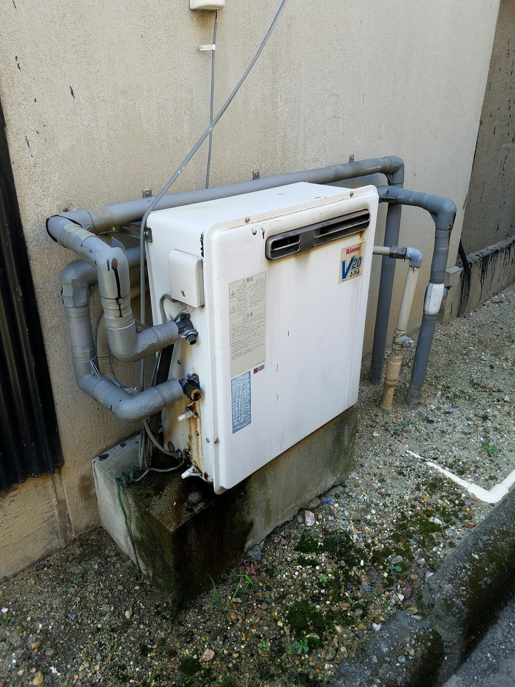 奈良県東芝エコキュートHWH-B465HA施工前の写真
