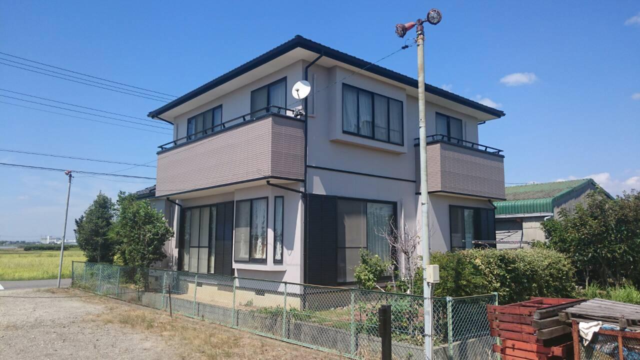 大阪府外壁塗装施工後の写真