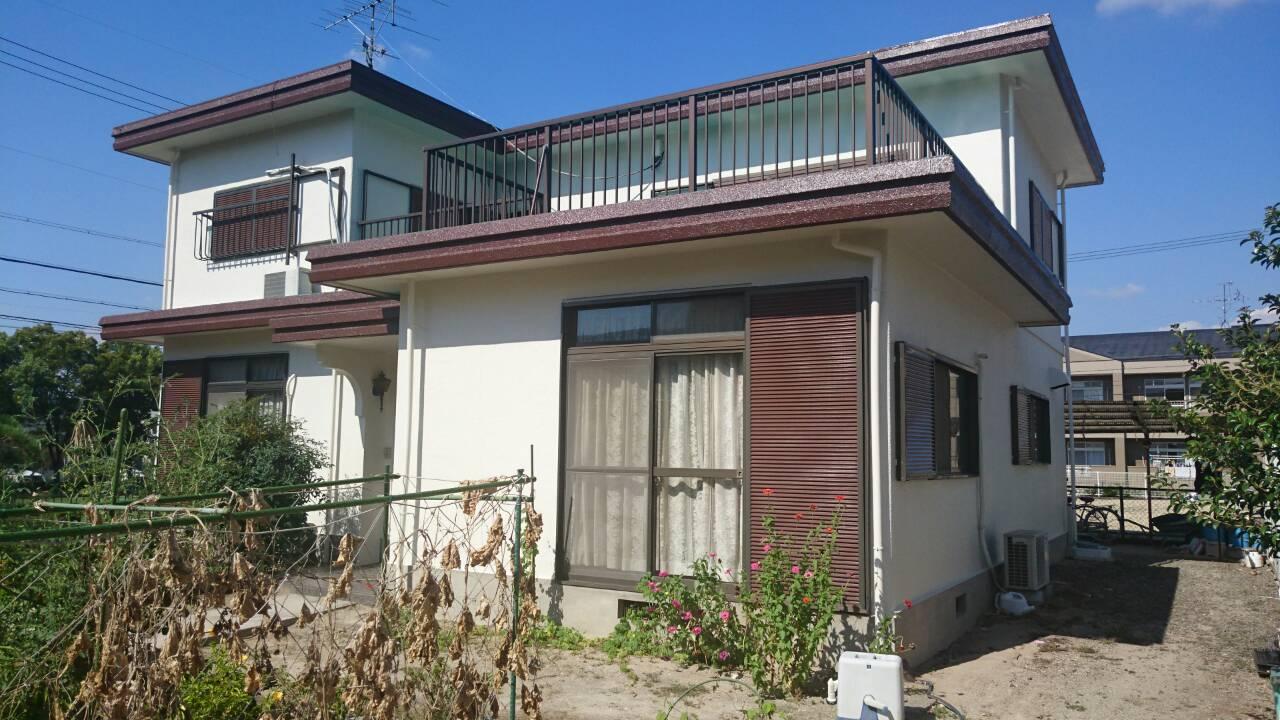 京都府外壁塗装施工後の写真