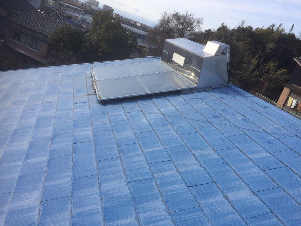 三重県三菱太陽光パネル 14枚PV-MA2250M施工前の写真