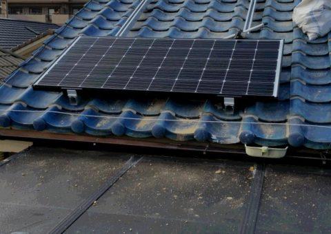 滋賀県三菱太陽光パネル 26枚PV-MA2250M施工後その他の写真1