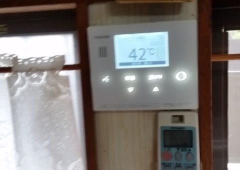 滋賀県東芝エコキュートHWH-B465H施工後その他の写真1