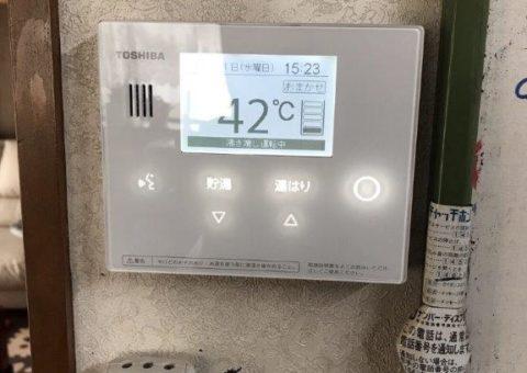 奈良県東芝エコキュートHWH-B375H三菱IHクッキングヒーターCS-G32M施工後その他の写真3