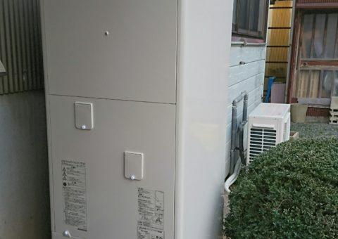 大阪府東芝エコキュートHWH-B375H施工後その他の写真1