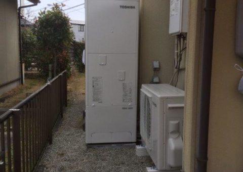 和歌山県東芝エコキュートHWH-B375H施工後その他の写真1