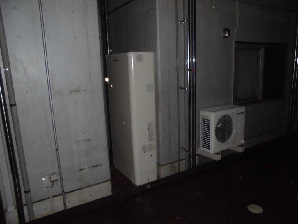 三重県東芝エコキュートHWH-B374HWA施工後の写真