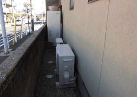 和歌山県東芝エコキュートHWH-B374HW施工後その他の写真1