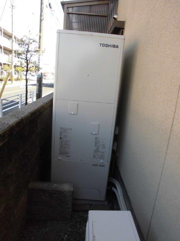 和歌山県東芝エコキュートHWH-B374HW施工後の写真