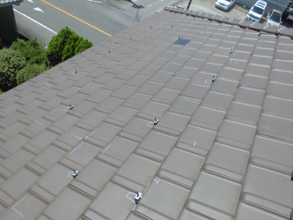 奈良県三菱太陽光発電PV-MA2180K施工前の写真
