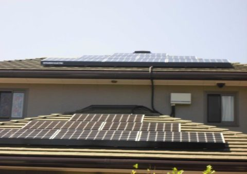 奈良県三菱太陽光発電PV-MA2180K施工後その他の写真1