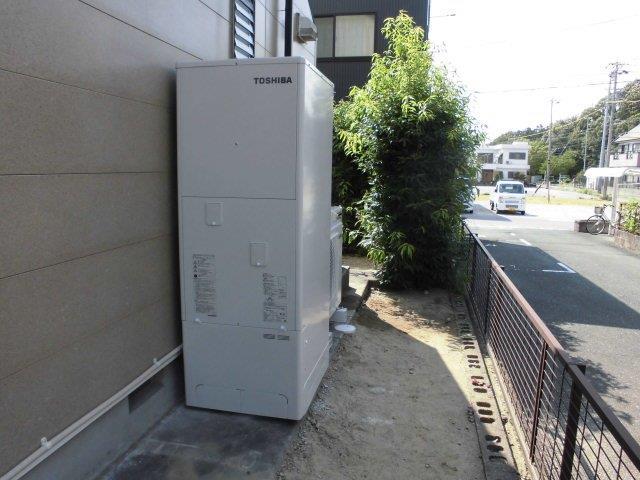 大阪府東芝エコキュートHWH-B374H施工後の写真