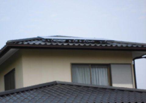 三重県長州産業 太陽光発電CS-246B41 10枚施工後その他の写真2