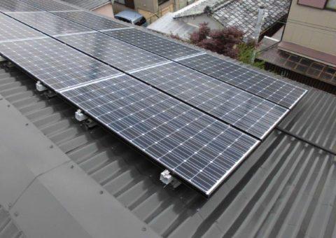 和歌山県長州太陽光パネル 15枚CS-N244SJ03施工後その他の写真3