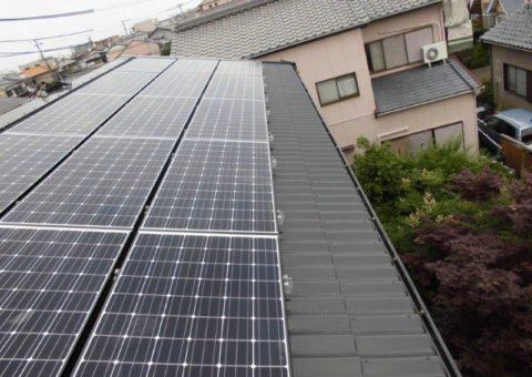 和歌山県長州太陽光パネル 15枚CS-N244SJ03施工後その他の写真1