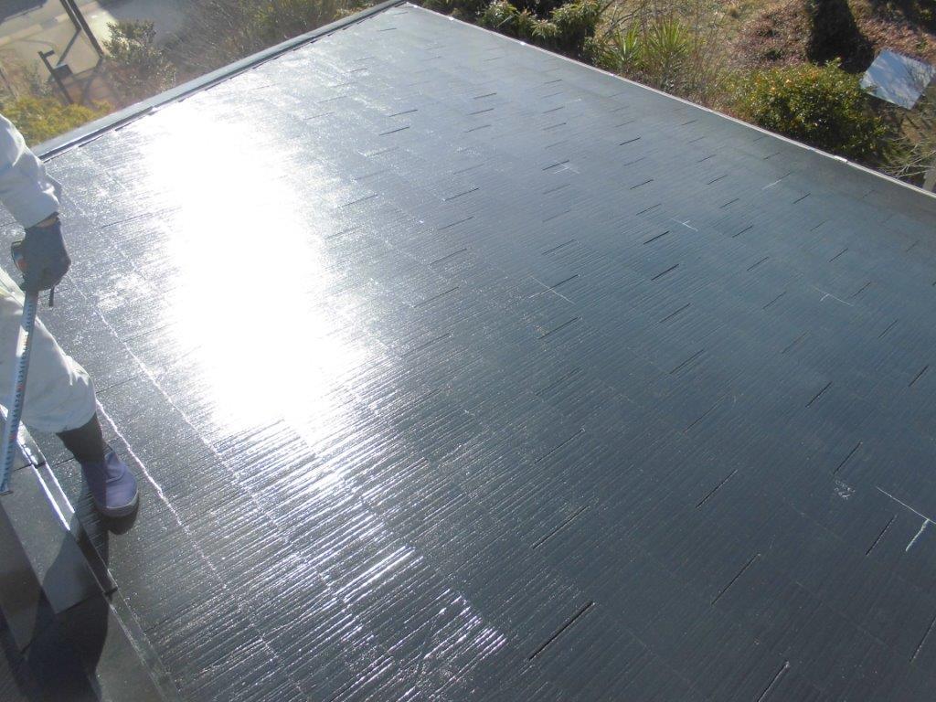 奈良県長州太陽光パネル 9枚CS-260B51施工前の写真