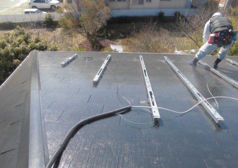 京都府長州太陽光パネル 9枚CS-260B51施工後その他の写真2
