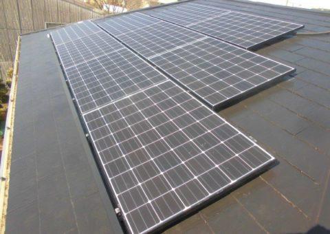 奈良県長州太陽光パネル 9枚CS-260B51施工後その他の写真4