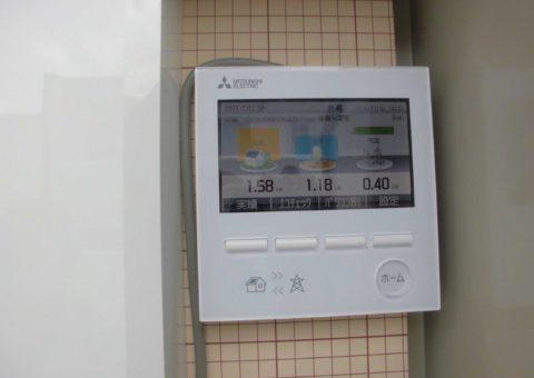 和歌山県三菱太陽光発電PV-MA2180K施工後その他の写真2