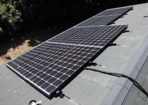 和歌山県三菱太陽光パネル 10枚PV-MA2180K施工後その他の写真1