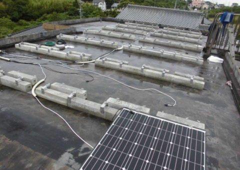 京都府長州太陽光パネル 35枚CS-246B41施工後その他の写真2