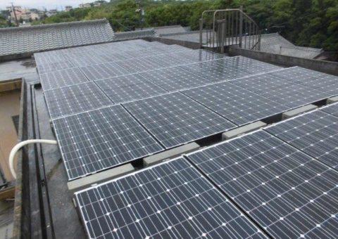 京都府長州太陽光パネル 35枚CS-246B41施工後その他の写真4