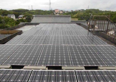 京都府長州太陽光パネル 35枚CS-246B41施工後その他の写真1