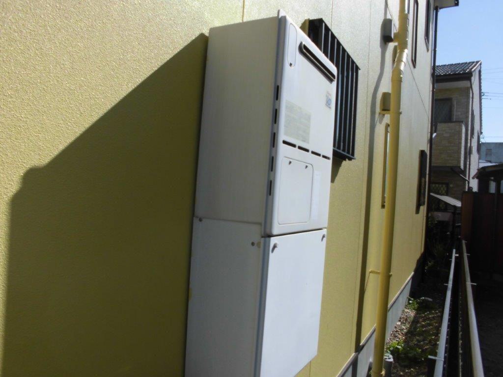 和歌山県Panasonicエコキュート(床暖対応)HE-D46FQS施工前の写真
