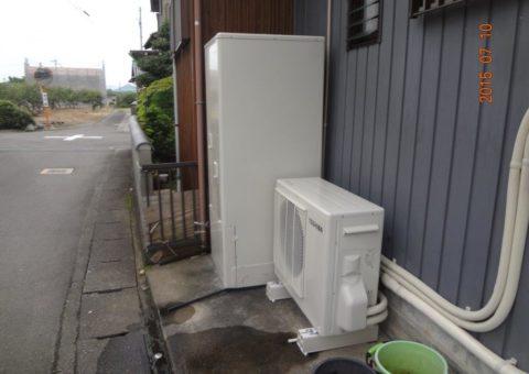 三重県東芝エコキュートHWH−B374施工後その他の写真3