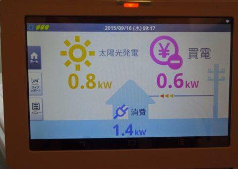大阪府長州太陽光パネル  16枚CS-246B41施工後その他の写真4