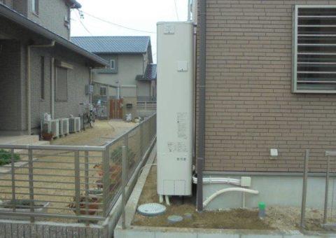 奈良県東芝エコキュートHWH-B374HW施工後その他の写真1