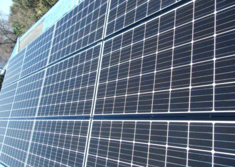 大阪府三菱太陽光パネル 14枚PV-MA2250M施工後その他の写真2